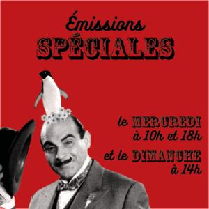Emission spéciale caroussel